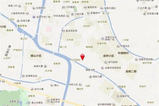 江城源著交通图