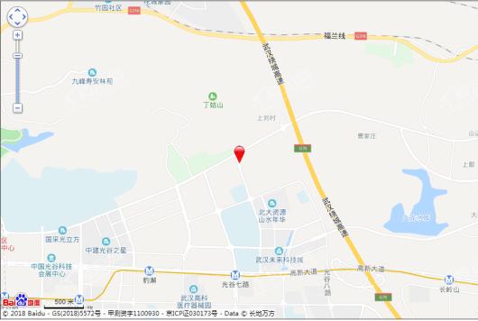 中城光谷龙山湖交通图
