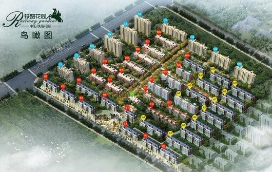 中阳·铁路花园实景图