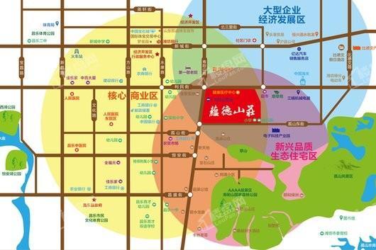 蕴德山庄交通图