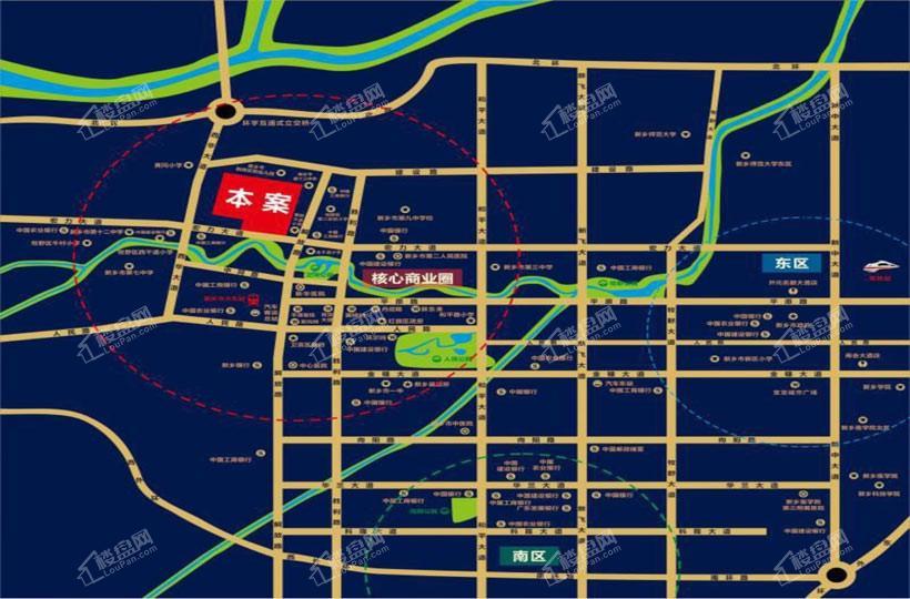 锦宏·光耀城位置图