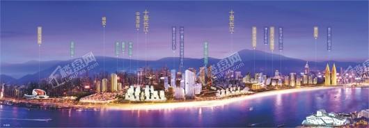 十里长江效果图
