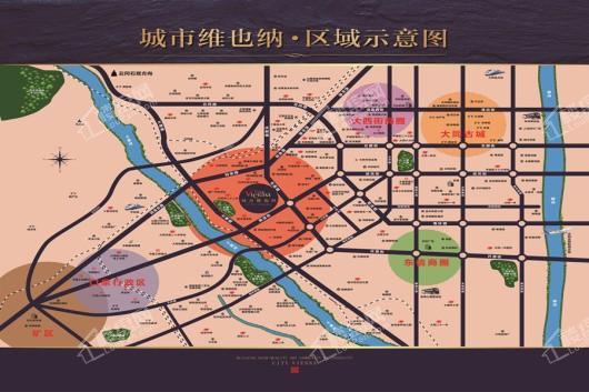 城市维也纳交通图