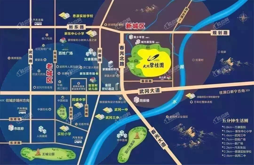 武冈碧桂园位置图