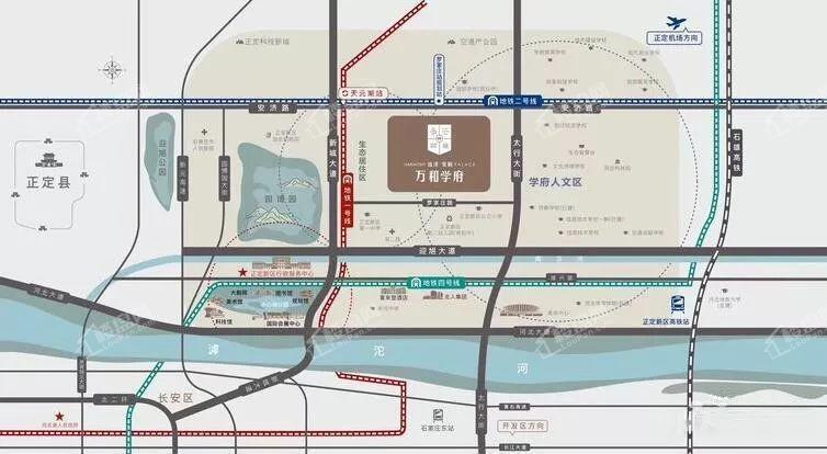 远洋安联万和学府位置图