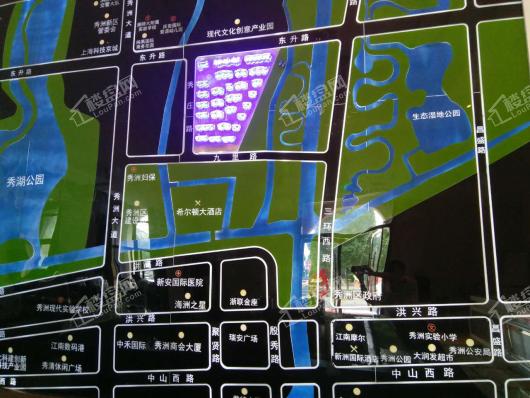 景尚墅-即买即住现房别墅-赠送花园、双车位交通图