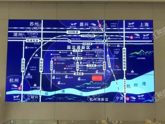 春江天越交通图