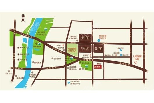 中阳·御景名都交通图