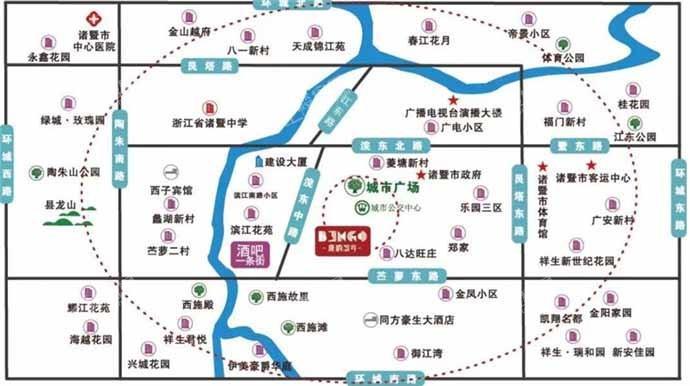 唐韵缤谷位置图