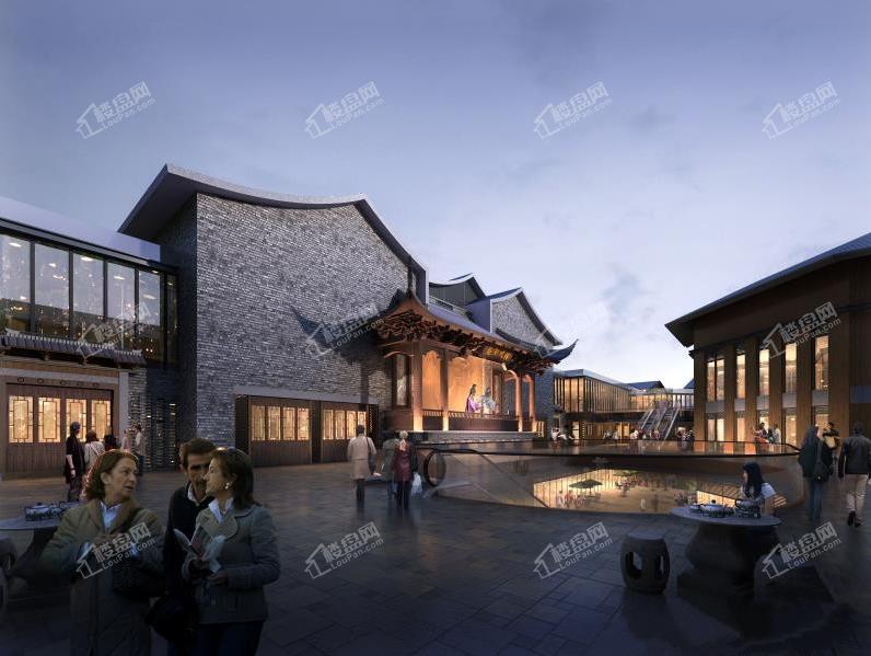 中国越剧艺术城效果图