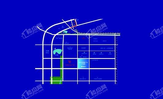 哈尔滨国家广告产业园区位图