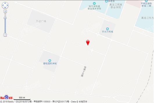哈尔滨国家广告产业园电子交通地图