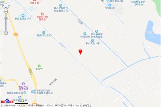 荣安侯潮府交通图