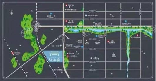长安府交通图