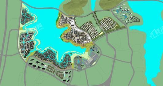 梓山湖未来城交通图