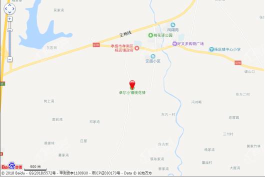 卓尔桃花驿田园文旅小镇交通图
