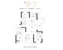 高层B-3户型图