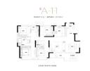 洋房A-11户型图
