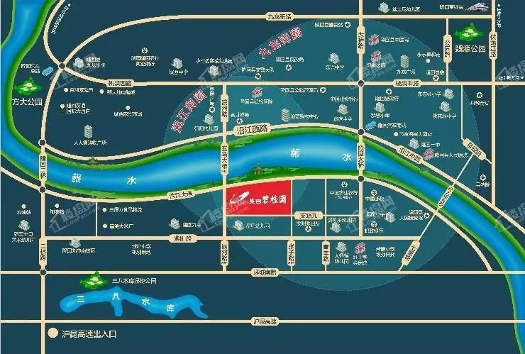 隆回碧桂园位置图