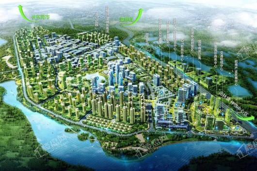 碧桂园潼湖科技小镇·创新小镇效果图