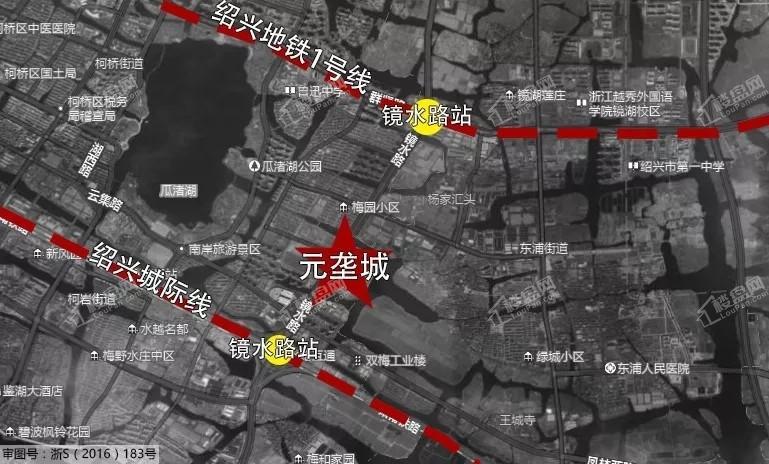 元垄城位置图