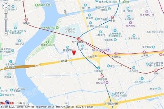 前滩晶萃名邸交通图
