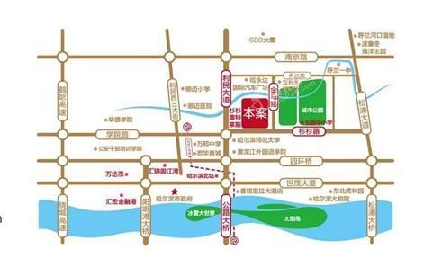 汇宏时代广场位置图