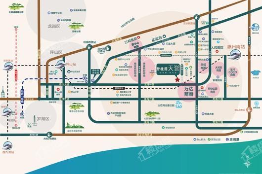 碧桂园·天誉交通图