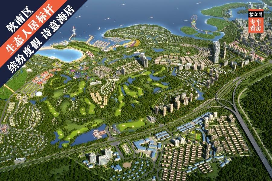 广西滨海山与墅