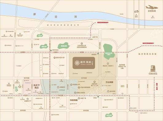 远洋·晟公馆交通图