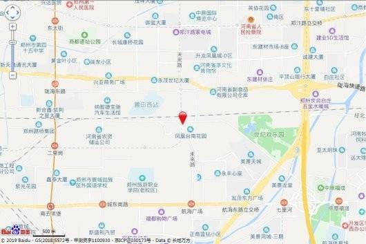 中博城珑誉园交通图