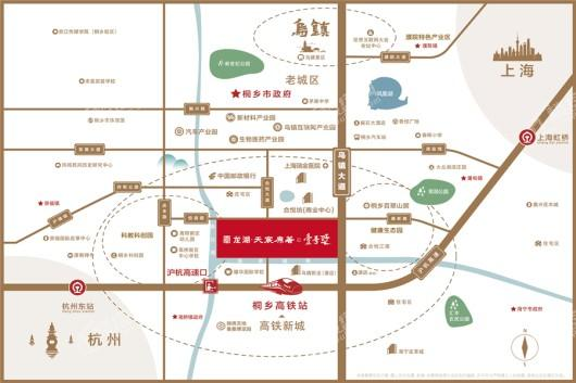 龙湖·天宸原著二期区位图