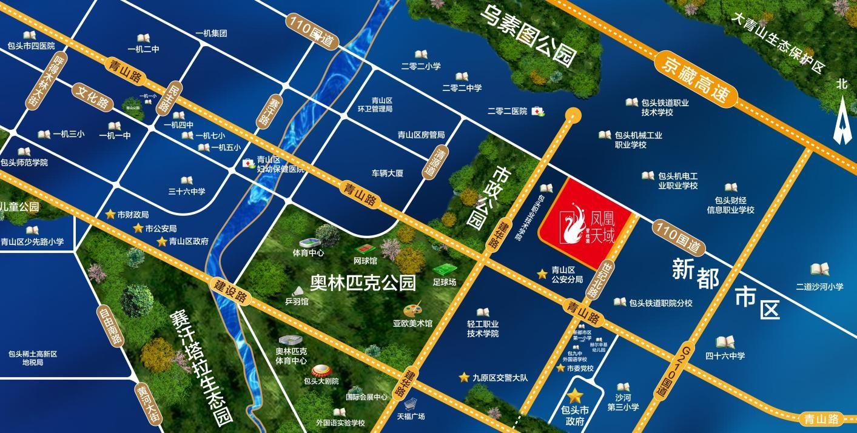 碧桂园凤凰天域位置图