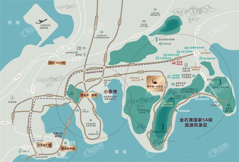佳兆业山海湾位置图