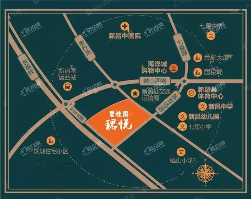 碧桂园珺悦位置图