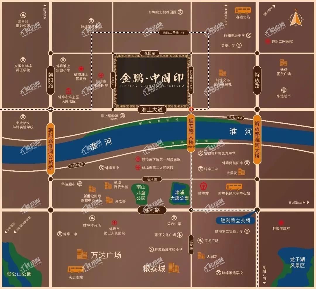 金鹏中国印位置图