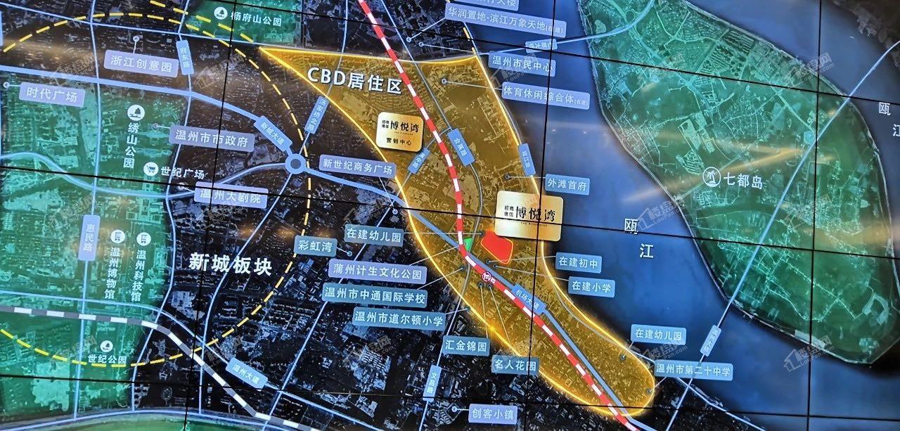 招商德信博悦湾位置图