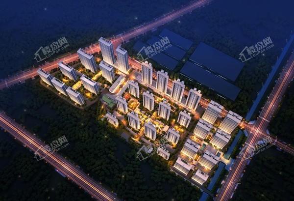 鸿海城效果图