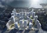 北海阳光城悦江海项目一期正在建设中