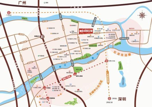 腾龙名悦公馆交通图