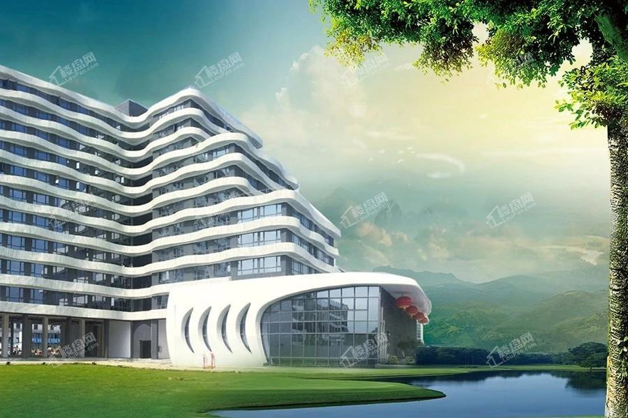 飞腾创意大厦效果图