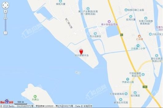 东莞恒大御景半岛交通图