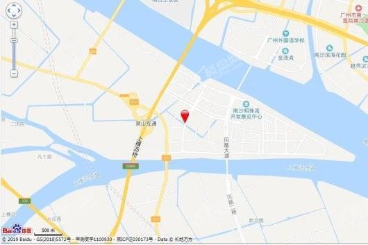 越秀明珠天悦江湾交通图