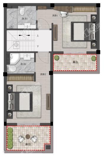 瑞城熙园户型图
