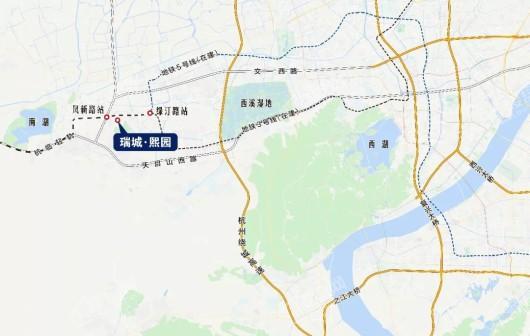 瑞城熙园交通图