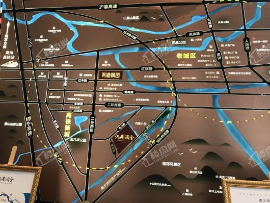 汎港润合交通图