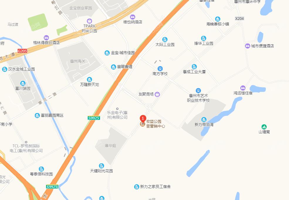 新力城位置图