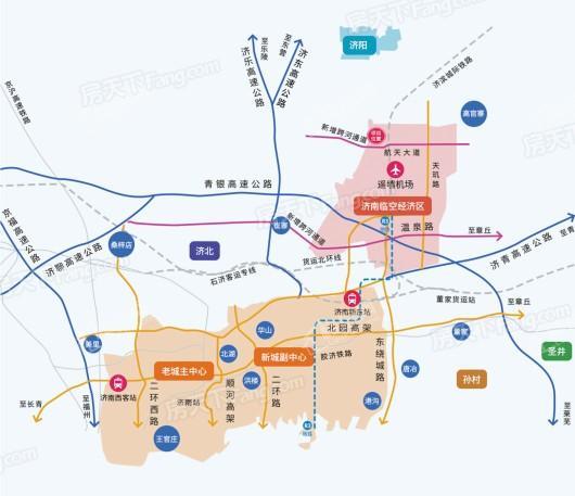 跨境电商创新广场交通图