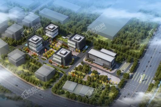 跨境电商创新广场效果图
