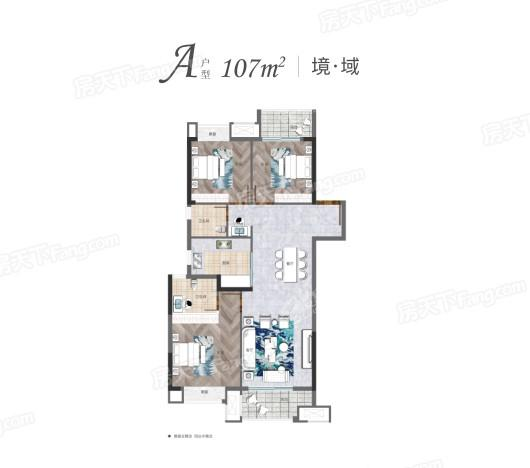 武汉英赫当代城MOMΛ户型图